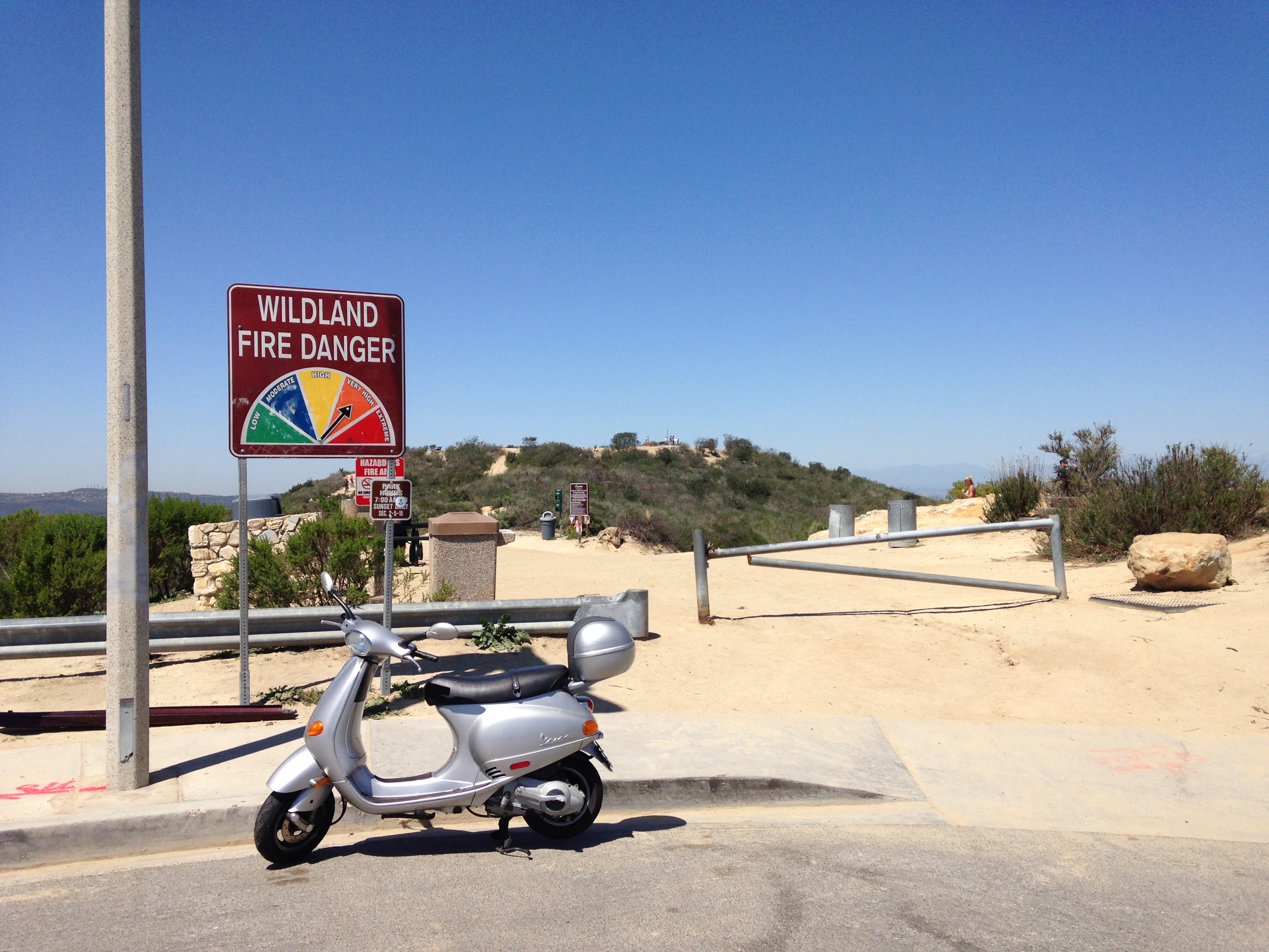 Top of Alta Laguna Blvd/Entrance to Meditation area